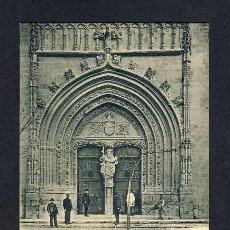 Postales: POSTAL D' ORIOLA (ALACANT): FAÇANA DE LA PARROQUIA DE SANTIAGO (HAUSER Y MENET) (ANIMADA). Lote 10555426