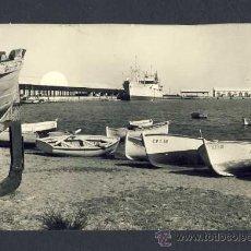 Postales: POSTAL DE BURRIANA (CASTELLÓ): VISTA PARCIAL DEL PORT (ED.G.GARRABELLA NUM.1). Lote 10629182