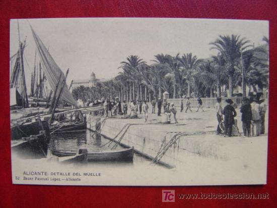 ALICANTE (Postales - España - Comunidad Valenciana Antigua (hasta 1939))