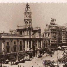 Postales: ANTIGUA POSTAL 16 VALENCIA AYUNTAMIENTO ED GARCIA GARRABELLA. Lote 11235132