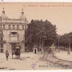 Postales: ANTIGUA POSTAL 18 VALENCIA BAJADA DEL PUENTE DEL MAR Y LLANO DEL REMEDIO 68 FOTOTIPIA THOMAS. Lote 11323650