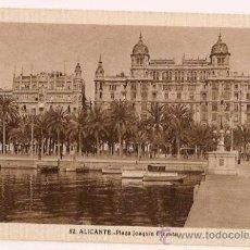 Postales: ANTIGUA POSTAL 82 ALICANTE PLAZA JOAQUIN DICENTA FOTO L ROISIN . Lote 11349587
