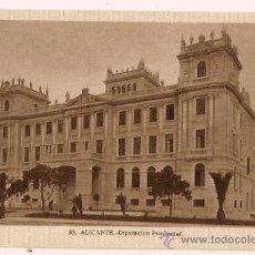 Postales: ANTIGUA POSTAL 83 ALICANTE DIPUTACION PROVINCIAL FOTO L ROISIN . Lote 11349589