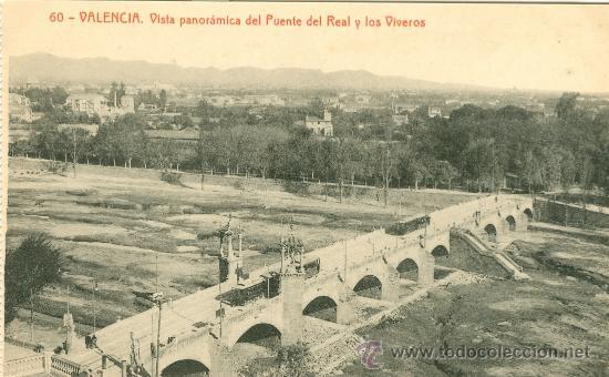 Valencia panor mica del puente del real y vive comprar for Vivero online madrid