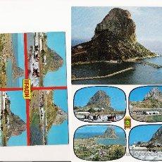 Postales: LOTE 3 POSTALES DE CALPE . ALICANTE . IFACH . . Lote 11595855