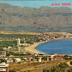 Postales: Nº 9082 POSTAL ALICANTE ALTEA DESDE EL ALBIR. Lote 27091216