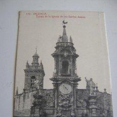 Postales: VALENCIA.TORRES DE LA IGLESIA DE LOS SANTOS JUANES.12252. Lote 11757093