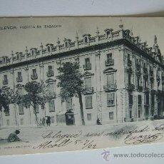 Postales: VALENCIA.FABRICA DE TABACOS.12323. Lote 16057001