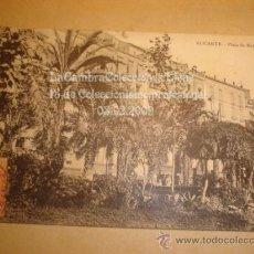 Postales: RARA Y ANTIGUA POSTAL DE ALICANTE , HACIA 1900. Lote 11838707