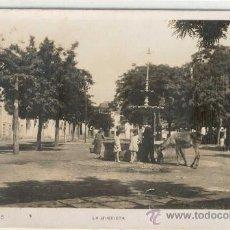 Postales: (PS-9648)POSTAL FOTOGRAFICA DE REQUENA(VALENCIA)-LA GLORIETA. Lote 11869878