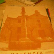 Postales: VALENCIA ATRACCION CON ARTICULO Y FOTOS SOBRE FALLAS VALENCIA MARZO 1967. Lote 18319698