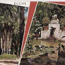 Postales: ALICANTE. ELCHE. HUERTO DEL CURA. PALMERA IMPERIAL Y TOCADOR DE LA DAMA. GARCIA GARRABELLA 36. Lote 12500061