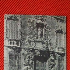 Postales: VALENCIA - PALACIO DE DOS AGUAS. Lote 12566032