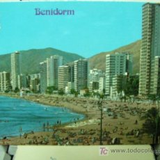 Postales: + BENIDORM, ALICANTE, CIRCULADA ANTIGUA POSTAL. Lote 12797841