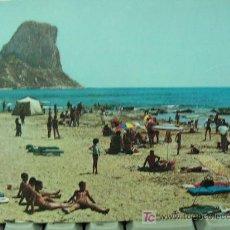 Postales: + PEÑON DE IFACH, SIN CIRCULAR, HACIA 1970. Lote 12797890