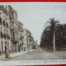 Postales: ALICANTE - EXPLANADA DE ESPAÑA. Lote 194876206