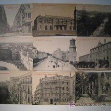 Postales: VALENCIA - EDICION THOMAS - LOTE 9 POSTALES ORIGINALES. Lote 13513522