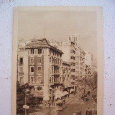 Postales: POSTAL DE ALICANTE -Nº109- AVENIDA DE MENDEZ NUÑEZ (ED ARRIBAS, CIRCUL 1962, POSTAL AÑOS 40 APROX). Lote 21990047