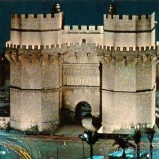 Postales: TORRES DE SERRANOS (VISTA NOCTURNA). Lote 14025720