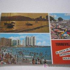 Postales: TORREVIEJA. ALICANTE. DIVERSOS ASPECTOS. ED. VIPA. Nº 331. Lote 14256030