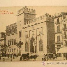 Postales: VALENCIA - LONJA DE LA SEDA, NO CIRCULADA. Lote 16120760