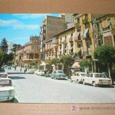 Postales: ORIHUELA ALICANTE CALLE DE CALDERON DE LA BARCA 1969. Lote 27076395
