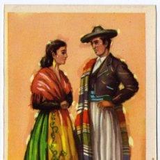 Postales: BONITA POSTAL - ALICANTE - PAREJA CON TRAJE REGIONAL . Lote 16343050
