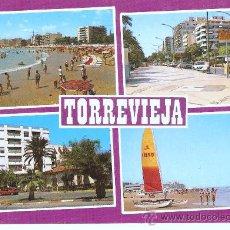 Postales: POSTAL DE TORREVIEJA - ALICANTE . Lote 15138020