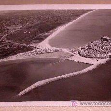 Postales: ANTIGUA FOTO POSTAL, PEÑISCOLA, CASTELLON, VISTA PANORAMICA, 14 X 9 CM. Lote 23064707