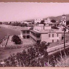 Postales: ANTIGUA FOTO POSTAL, BENICASIM, HOTEL VORAMAR , CASTELLON, 14 X 9 CM, ED. GARRABELLA. Lote 15255883