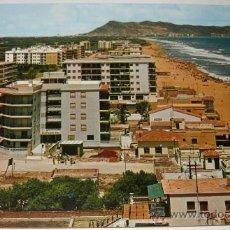 Postales: ANTIGUA POSTAL DE TABERNES DE VALLDIGNA - PLAYA - GARCIA GARRABELLA - NO CIRCULADA -1967. Lote 15268250