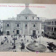 Postales: ANTIGUA POSTAL, VALENCIA, REAL CAPILLA DE NUESTRA SEÑORA DE LOS DESAMPARADOS, 12, THOMAS.. Lote 15666909