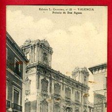 Postales: VALENCIA, PALACIO DE DOS AGUAS, P31543. Lote 15730140