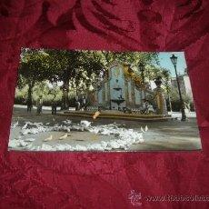 Postales - Carcagente plazoleta y fuente del parque,ed Humberto-Cuenca - 15833658