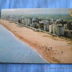 Postales: POSTAL VALENCIA GANDIA VISTA AEREA PLAYA NO CIRCULADA. Lote 16040006