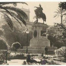 Postales: VALENCIA, MONUMENTO A JAIME I EL CONQUISTADOR (JDP VALENCIA 582) ESCRITA SIN CIRCULAR. Lote 16616398