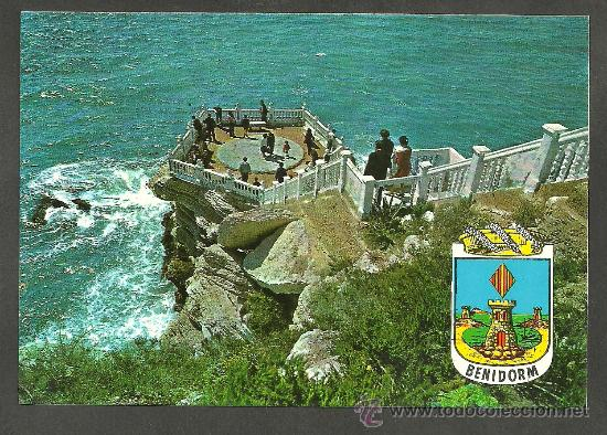 POSTAL BENIDORM - PLAZOLETA DEL CASTILLO - HNOS GALIANA (Postales - España - Comunidad Valenciana Moderna (desde 1940))