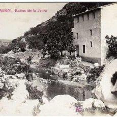 Postales: MAGNIFICA POSTAL - BUÑOL (VALENCIA) - BAÑOS DE LA JARRA. Lote 18767546