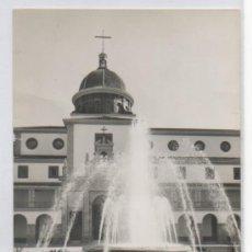 Postales: TARJETA POSTAL DE NULES FUENTE PLAZA GENERALISIMO CASTELLON . Lote 17072738