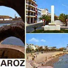 Postales: POSTAL VINAROZ PLAYA PLAZA TOROS PASEO. Lote 17173017