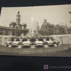 Postales: PLAZA DEL CAUDILLO - FUENTE LATERAL - VALENCIA - . Lote 17197057