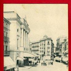 Postales: VALENCIA, CALLE DE LAS BARCAS Y TEATRO PRINCIPAL, P35712. Lote 17442628