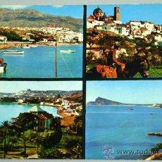 Postales: POSTAL ALTEA ALICANTE 4 VISTAS AÑOS 60. Lote 17796557