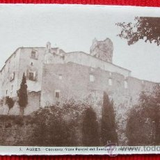 Postales: AGRES - ALICANTE - RARA EDICION. Lote 17909454