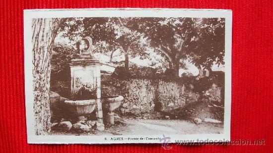 AGRES - ALICANTE - RARA EDICION (Postales - España - Comunidad Valenciana Antigua (hasta 1939))