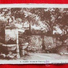 Postales: AGRES - ALICANTE - RARA EDICION. Lote 17909610