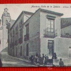 Postales: MONOVAR - ALICANTE. Lote 17935229