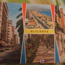 Postales: 67. ALICANTE. BELLEZAS DE LA CIUDAD.. Lote 24079303