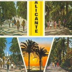 Postales: ALICANTE, DIVERSOS ASPECTOS • COMERCIAL VIPA. Lote 18663906