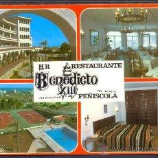 Postales: TARJETA POSTAL DE PEÑISCOLA HOTEL RESIDENCIA BENEDICTO XIII CASTELLON. Lote 18715193